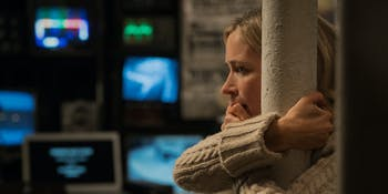 Evelyn Abbott (Emily Blunt) in 'A Quiet Place'.