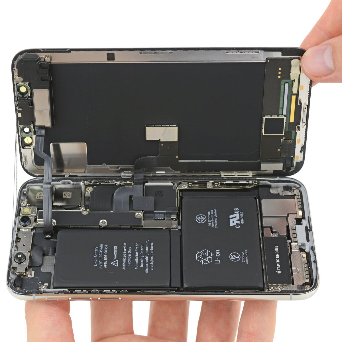 iPhone X: Taking Phone Apart Reveals Why You Really Shouldn