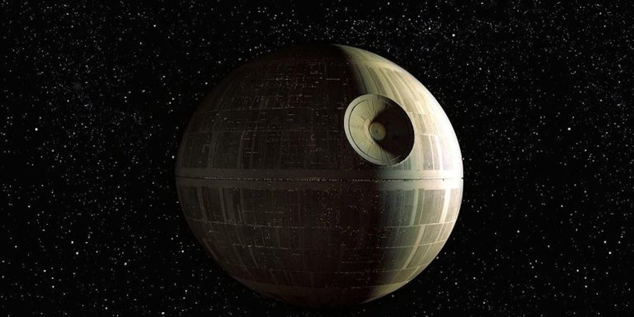 Death Star in 'Rogue One'