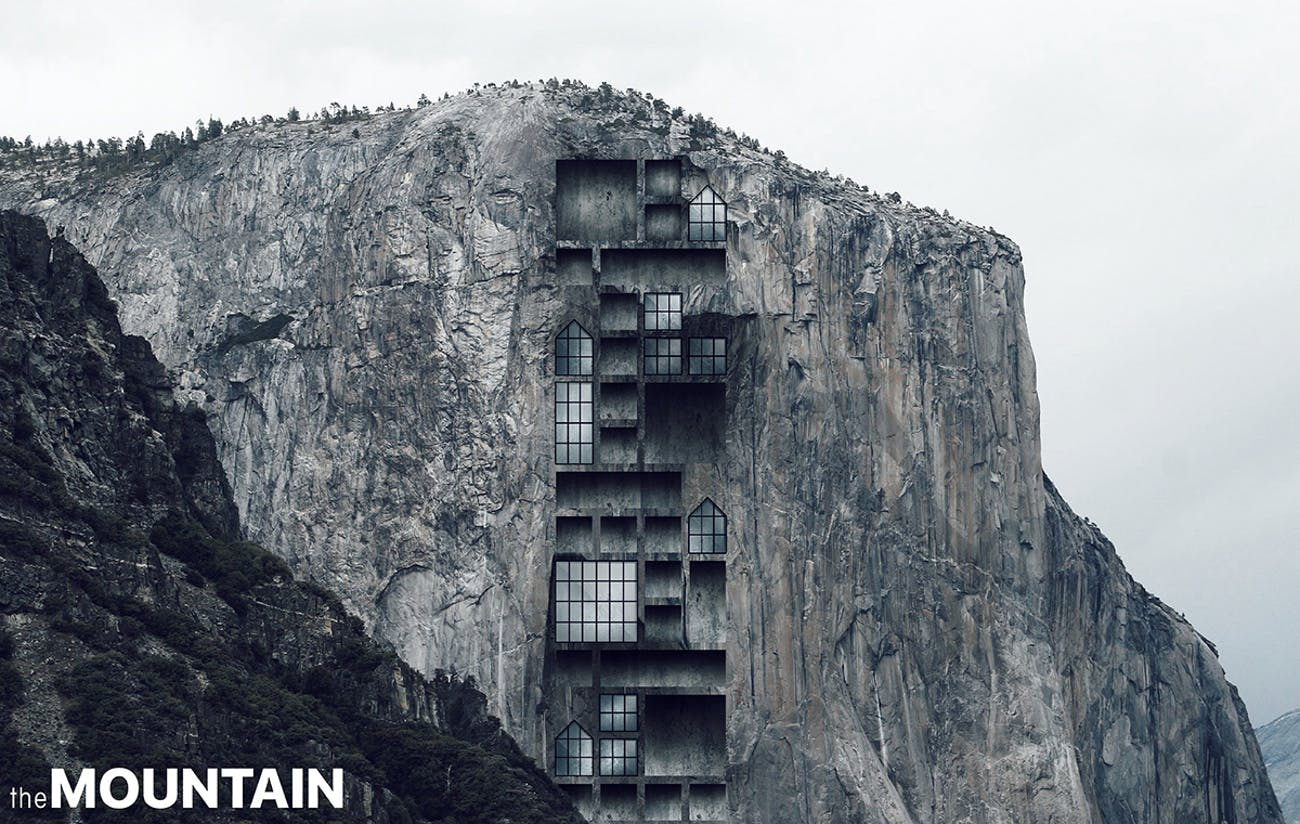 Mountain Skyscraper Yosemite