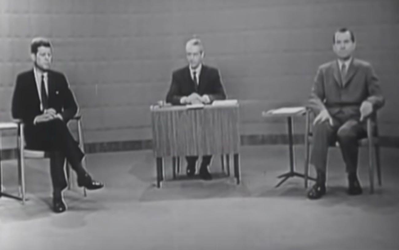 tv debate, Nixon, Kennedy