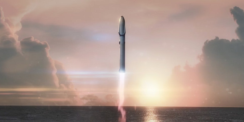 SpaceX's Mars-Bound Rocket Is a Falcon 9 on Steroids