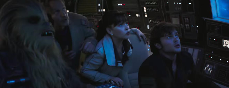 Image result for Falcon solo trailer