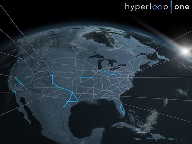 Here Are the 11 Proposed Hyperloop Routes in the U.S.