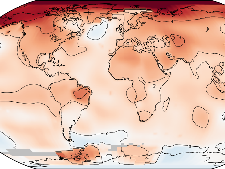 NASA 2016 climate change global warming temperature record