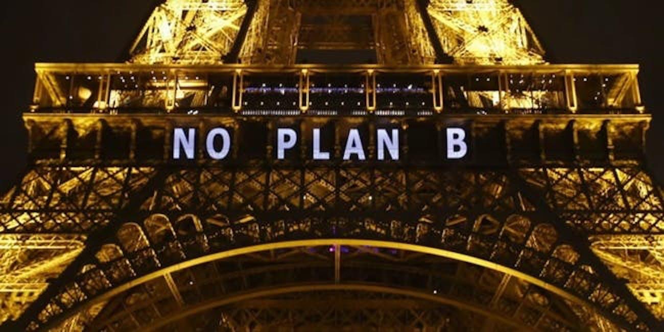 Eiffel Tower COP 21