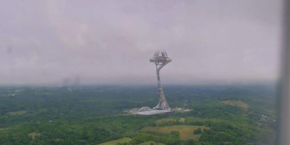 The Millennium Clock in 'Watchmen'