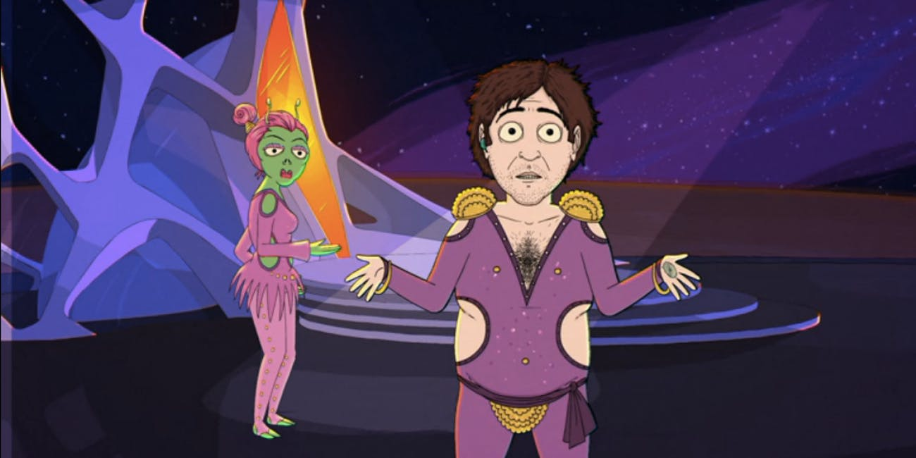Jeff and Some Aliens on Comedy Central