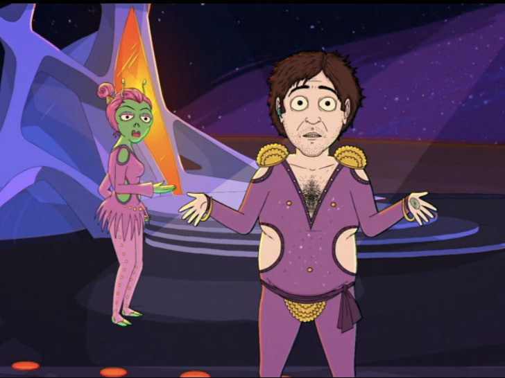 Jeff's Small Penis Makes Him a Star on 'Jeff & Some Aliens'