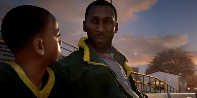 """A star-studded cast drives the story mode in 'Madden NFL 18,' called """"Longshot."""""""