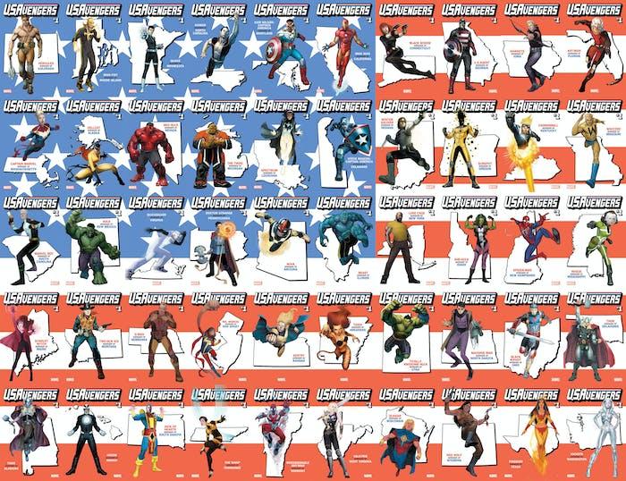 Marvel Avengers States