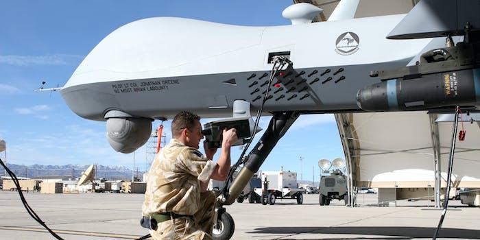 A DARPA drone.