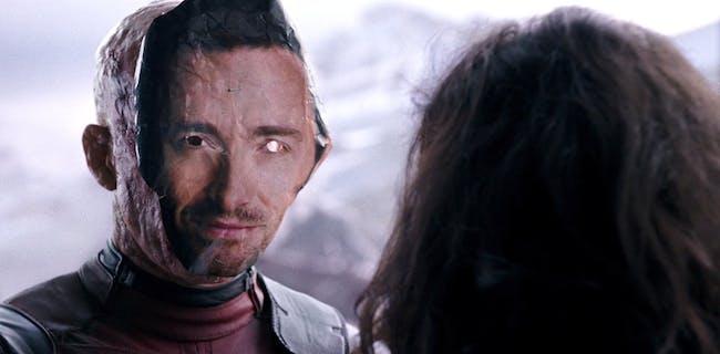 Deadpool Hugh Jackman Cutout Face
