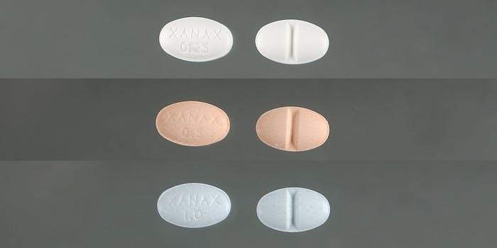 Xanax 0.25, 0.5 & 1 mg