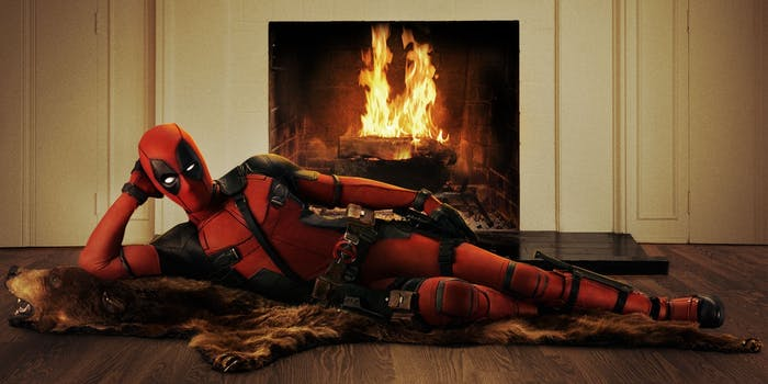 Promotional poster for Fox's 'Deadpool'
