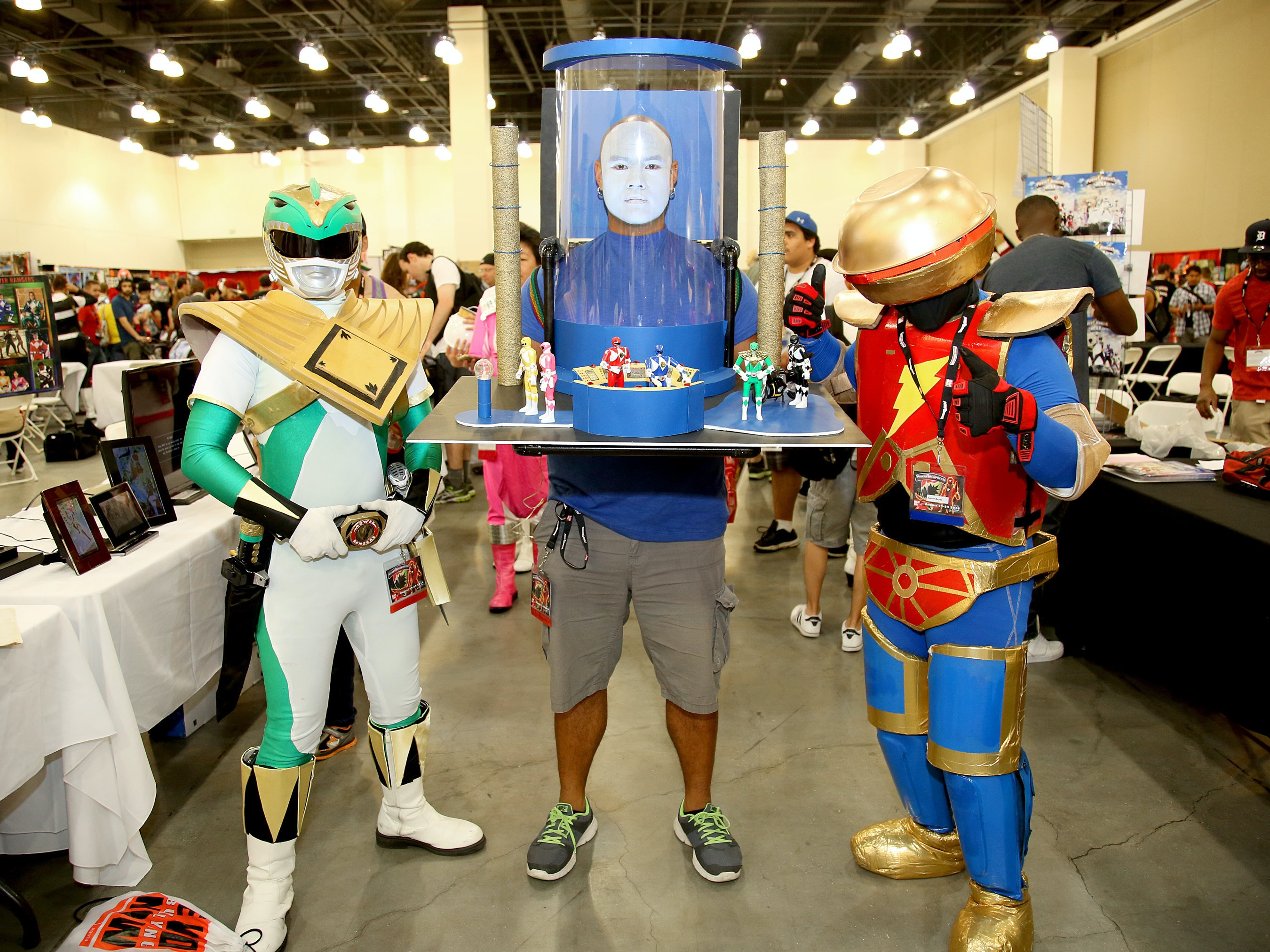 Pursuing Happiness at a Power Rangers Convention