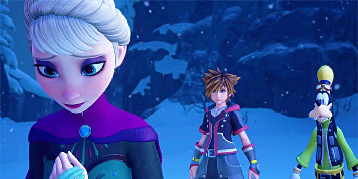 The world of 'Frozen' is coming to 'Kingdom Hearts III'.