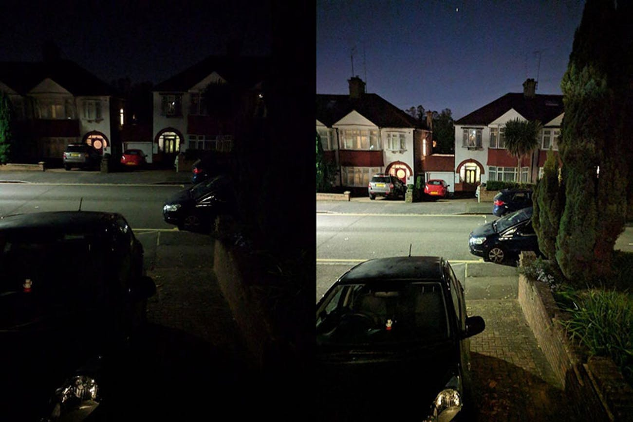 google pixel 3 night sight camera