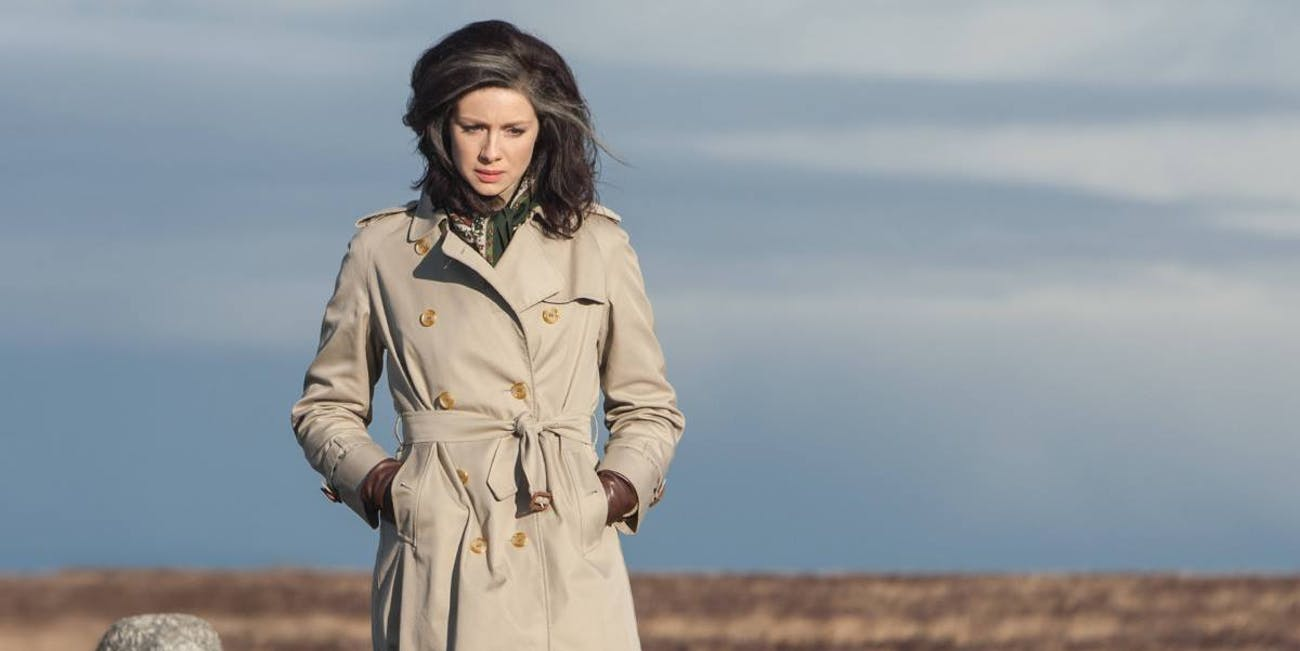 Clare Fraser visits the site of Culloden in Outlander