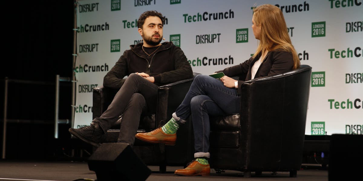 Suleyman at TechCrunch Disrupt on Monday in London.