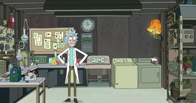'Rick and Morty' Rick's Garage
