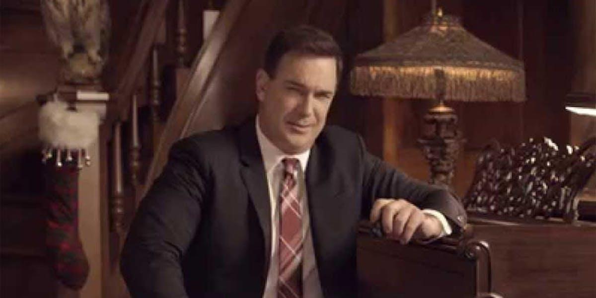 Patrick Warburton plays Lemony Snicket in the Netflix revival series.
