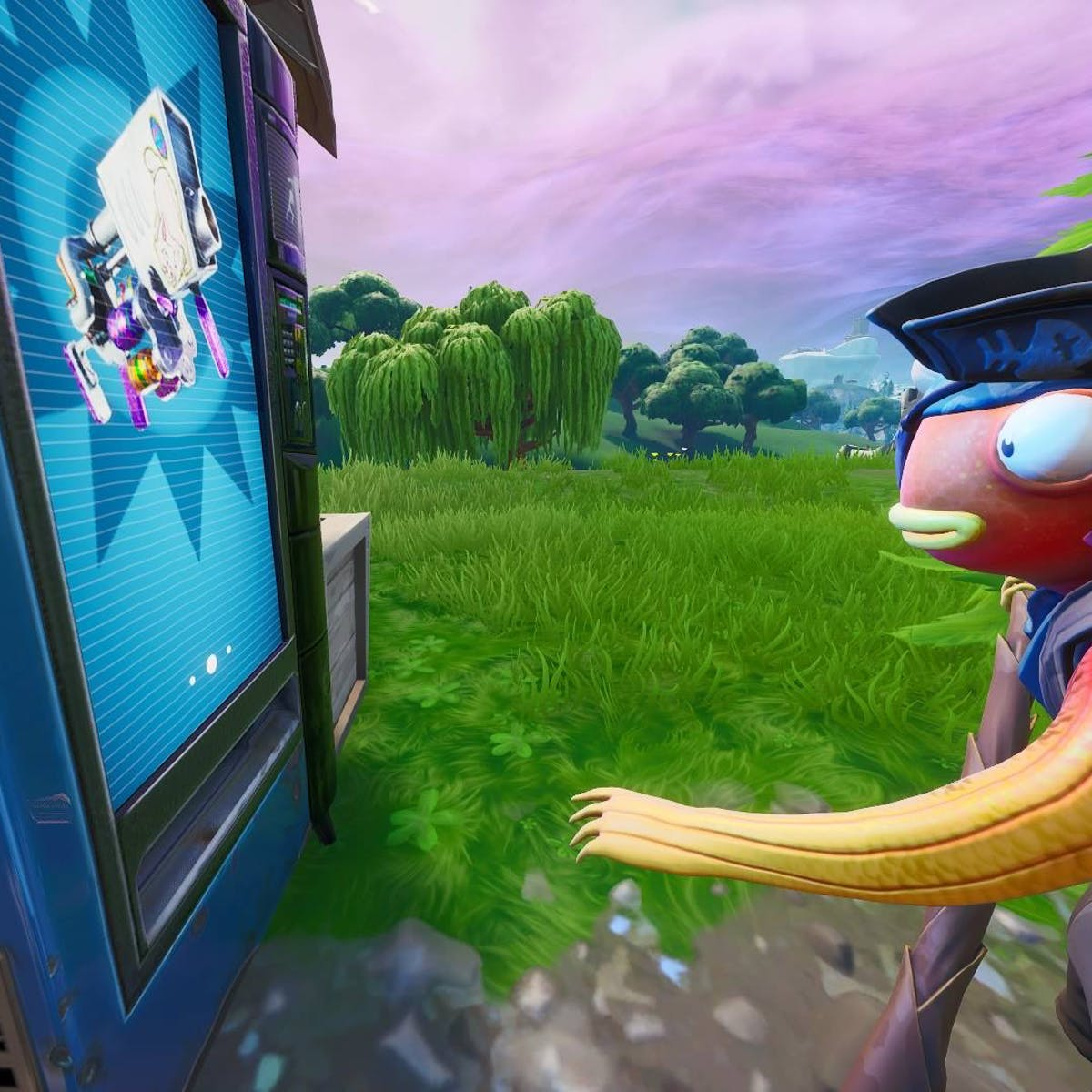 fortnite vending machines locations and map for the week 8 challenge inverse - where do apples spawn in fortnite season 8
