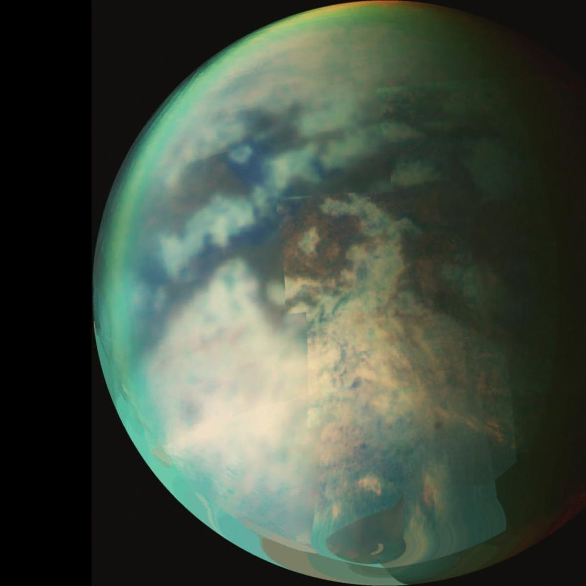 Scientists glimpse Titan's startling terrain for the first time