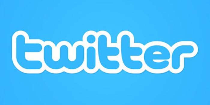 the old twitter logo