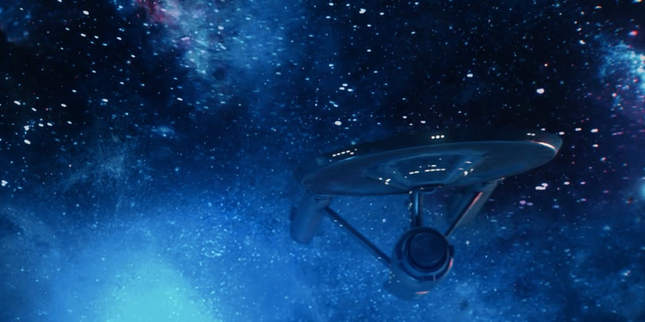 The original Enterprise, 'Discovery' style.