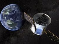 Artist's rendering of TESS