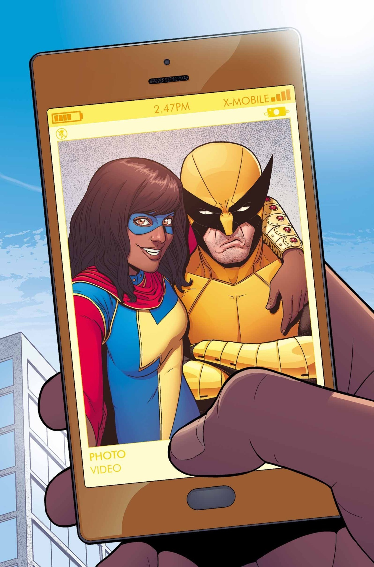 Image result for superhero selfie