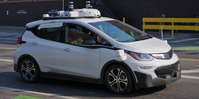 Car accident, self driving