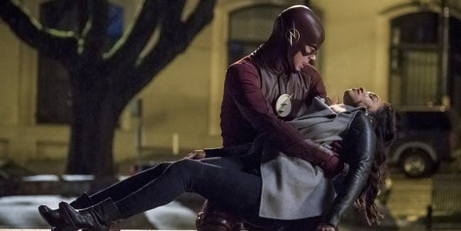 The Flash Barry Iris Season 4