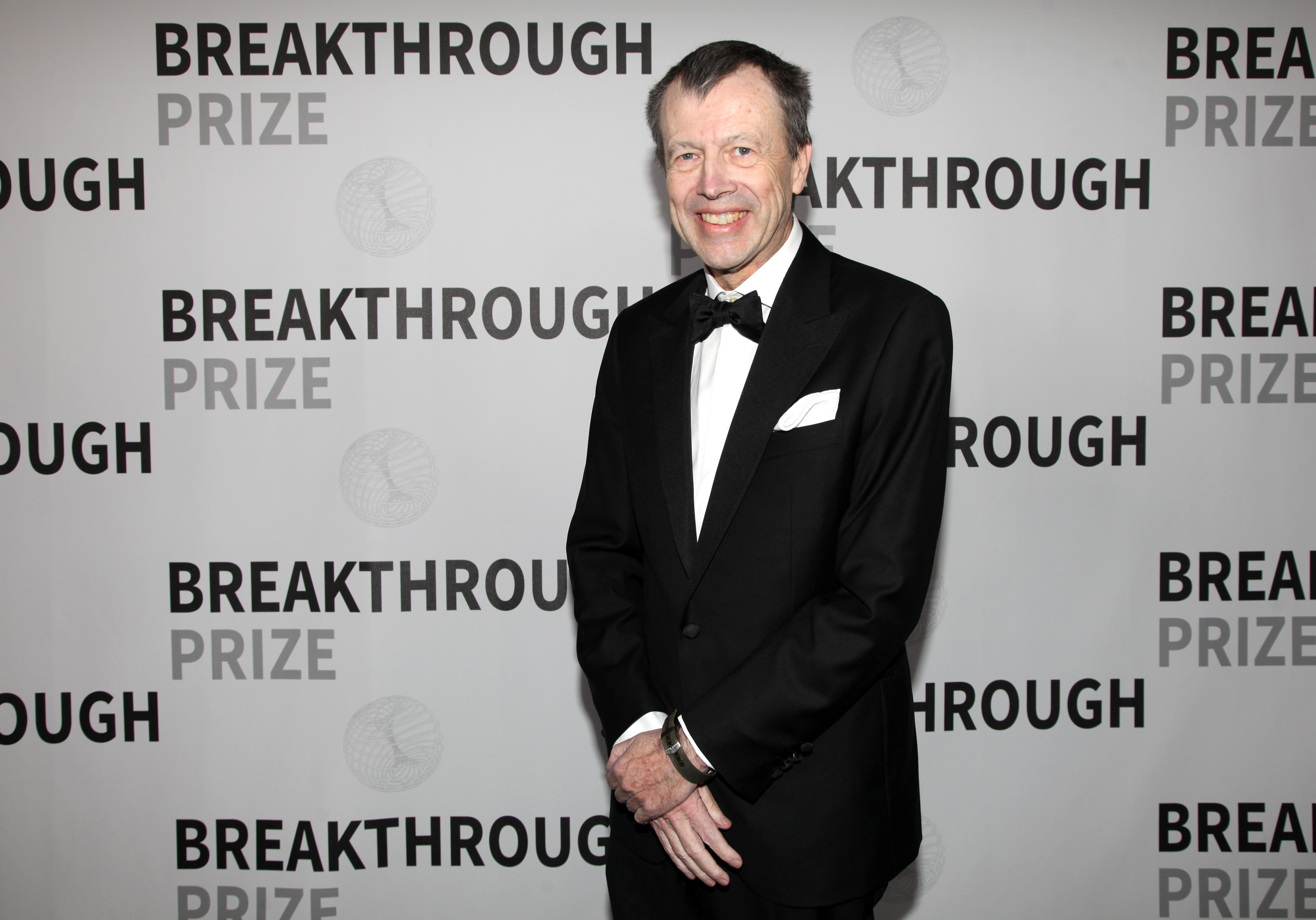 Mathematician Jean Bourgain attends the 2017 Breakthrough Prize.