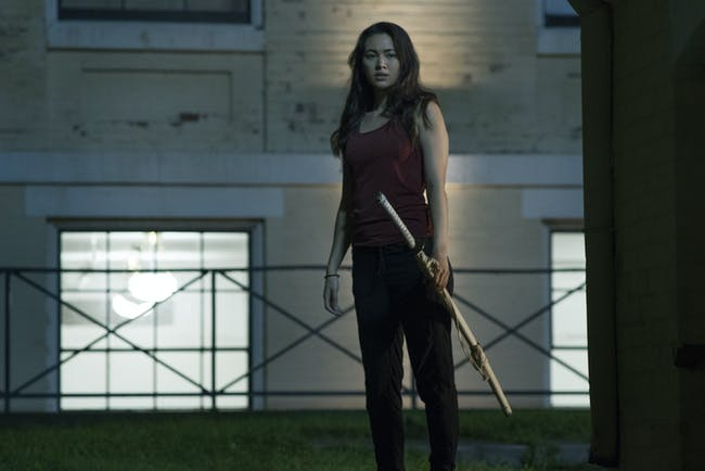 Jessica Henwick as Colleen Wing in Netflix's 'Iron Fist'
