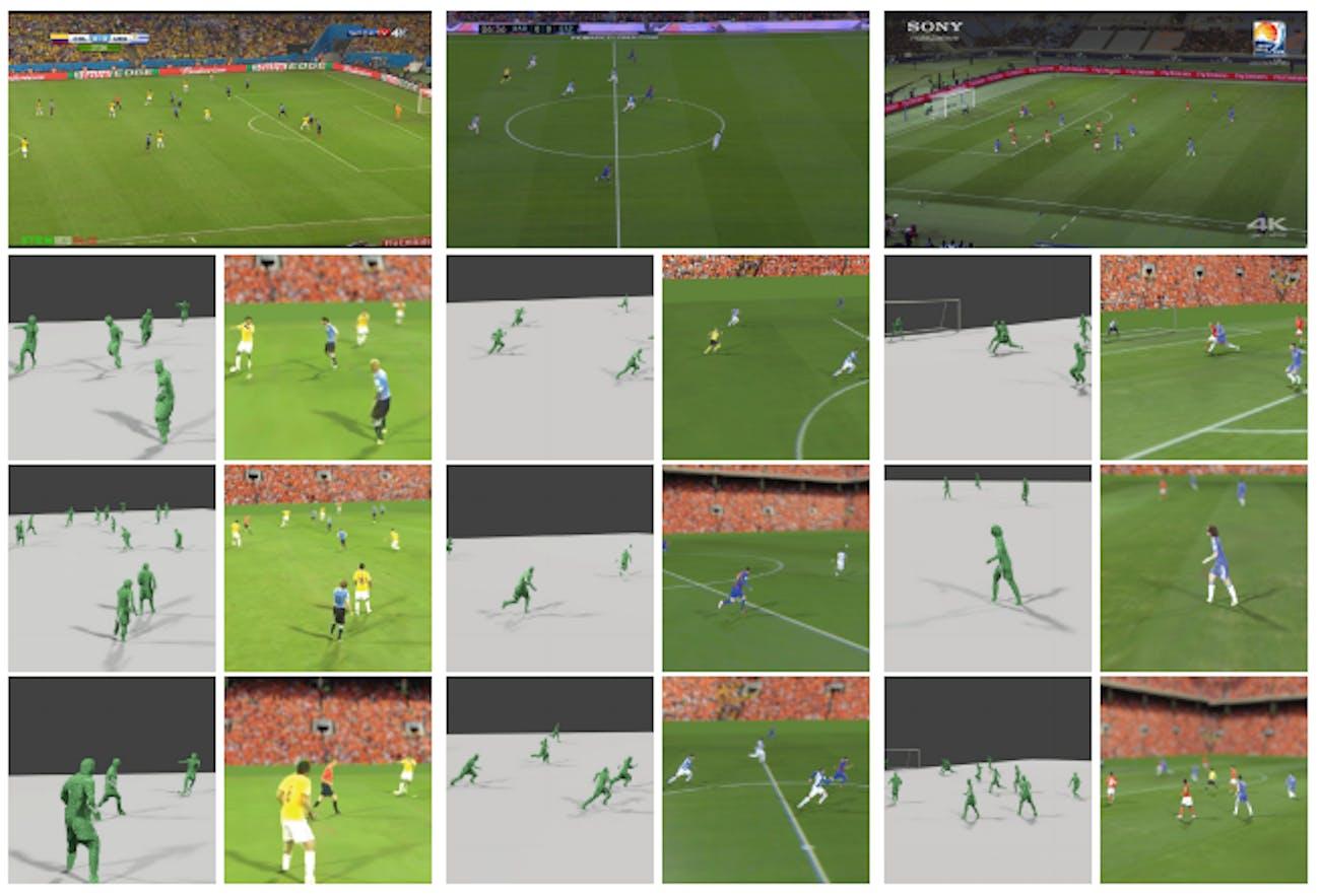 world cup holograms 3d soccer AR