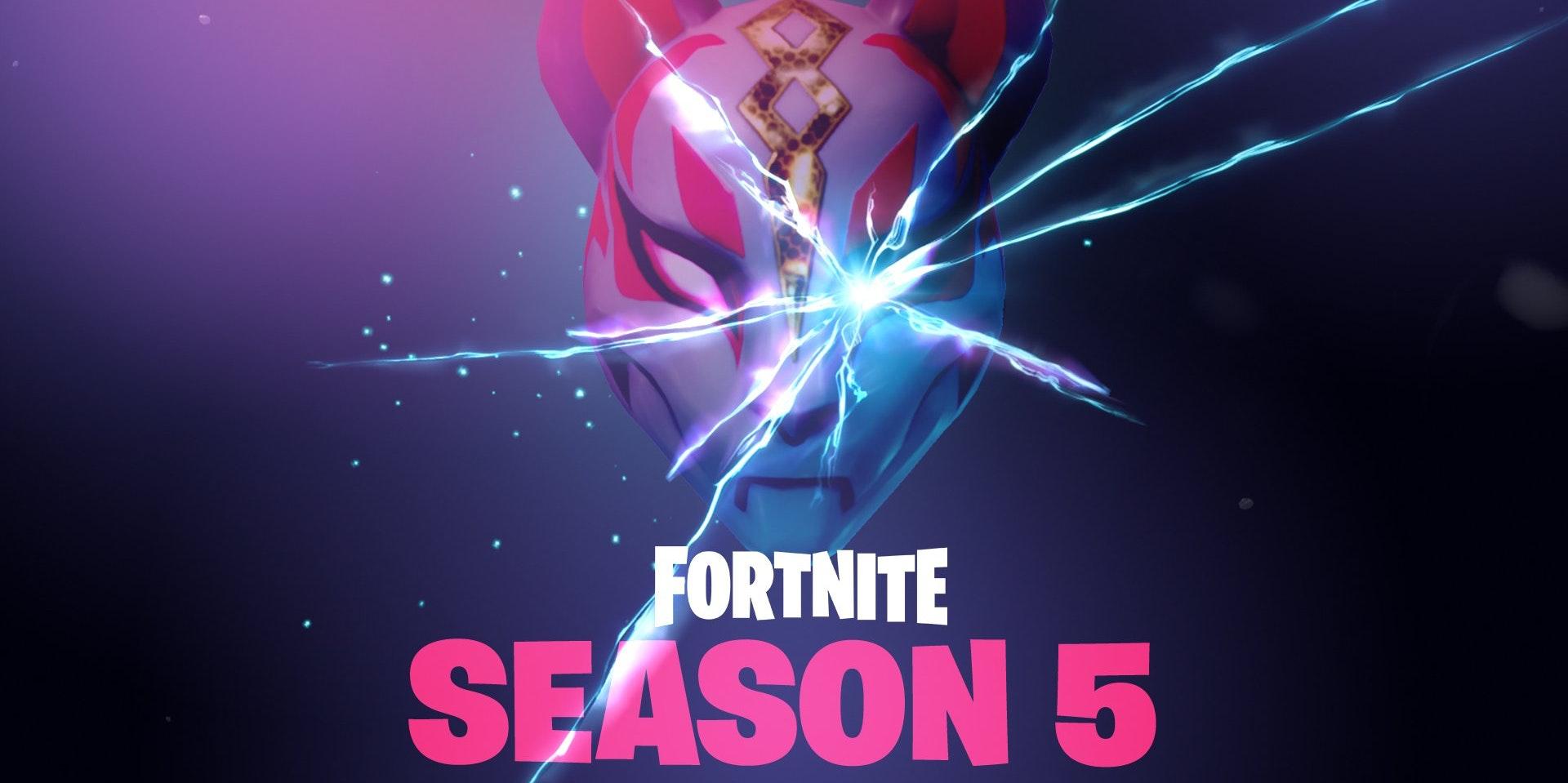 Fortnite Season 5 Leaks Worlds Collide Teaser Kitsune Mask And