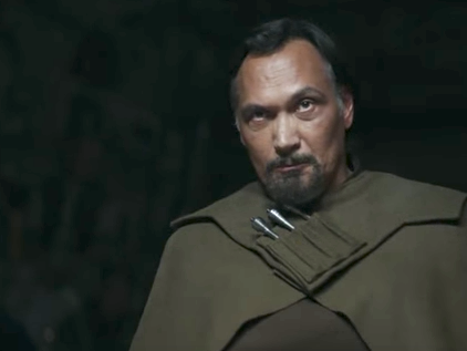 Princess Leia's Other Dad Scowls at Jyn in New 'Rogue One' Clip