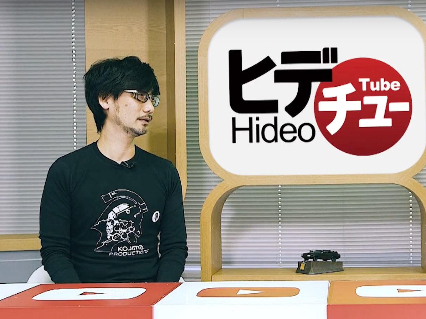 Hideo Kojima Starts YouTube Channel HideoTube, and It's Off to a Great Start