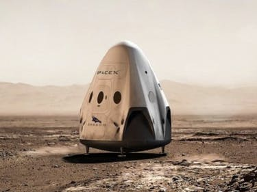 SpaceX is Looking at Four Different Landing Sites on Mars