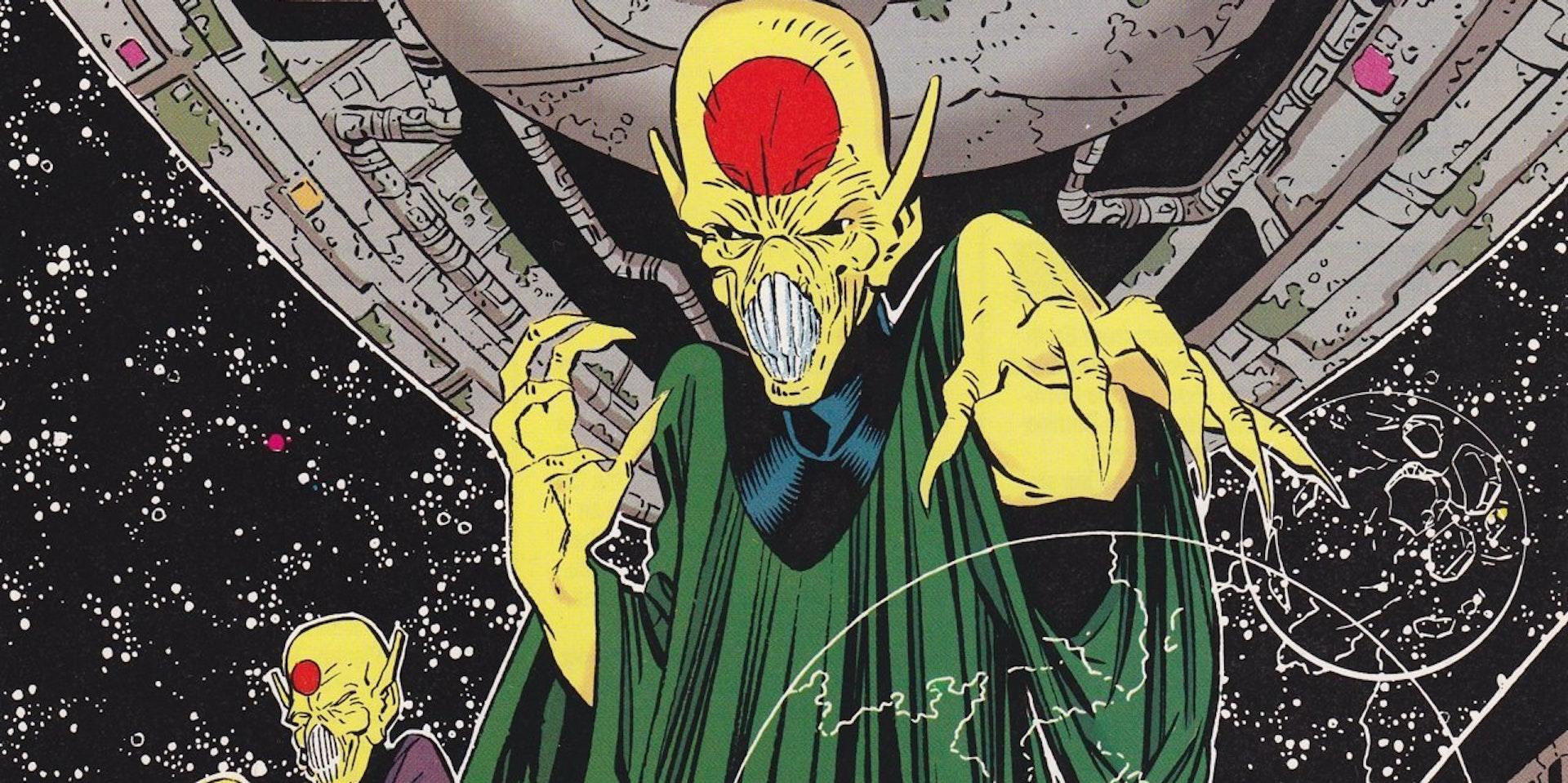 The Dominators Arrow The Flash