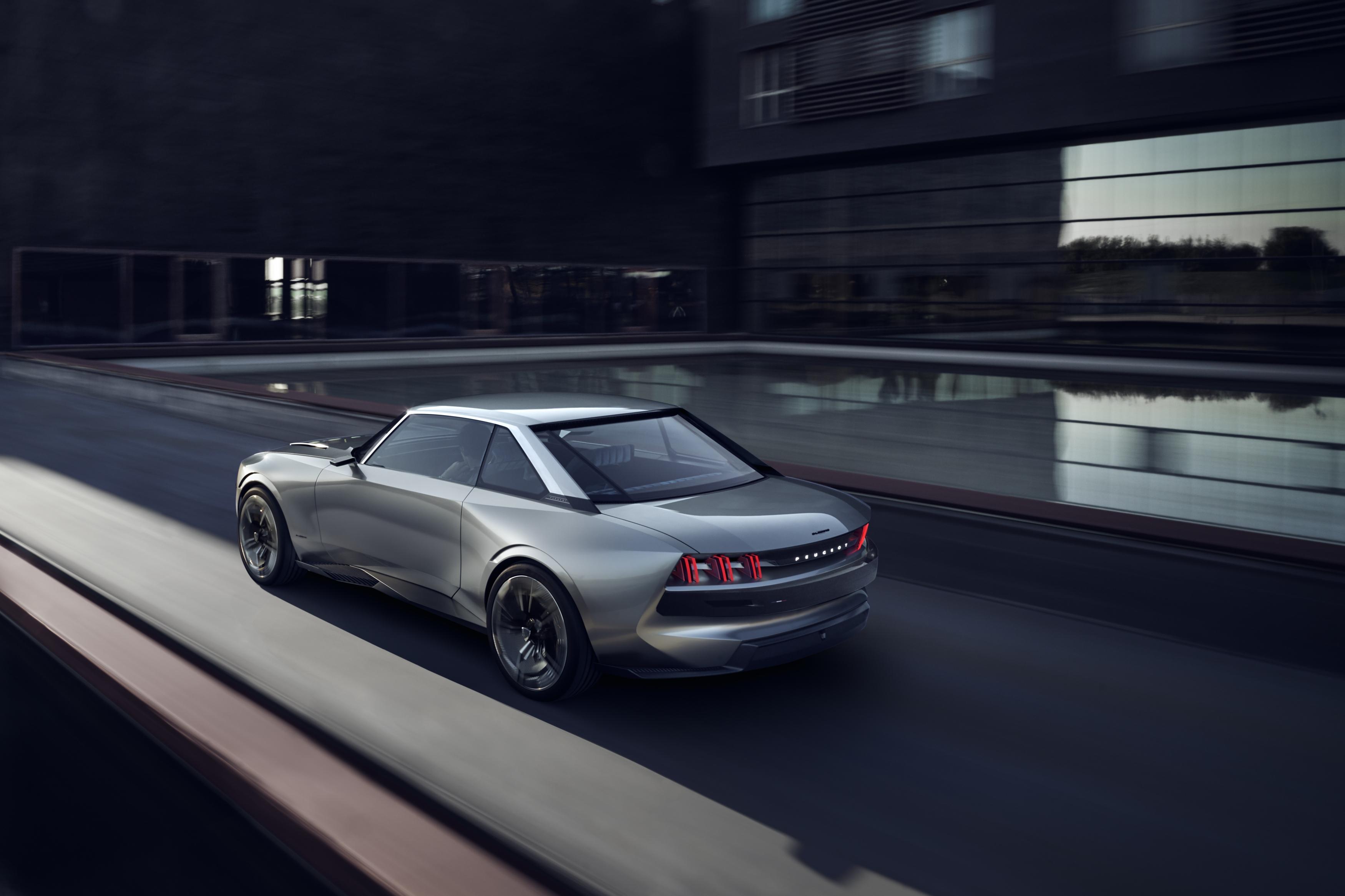 Peugeot E Legend Vs Tesla Roadster Electric Cars Of The Future Compared Inverse