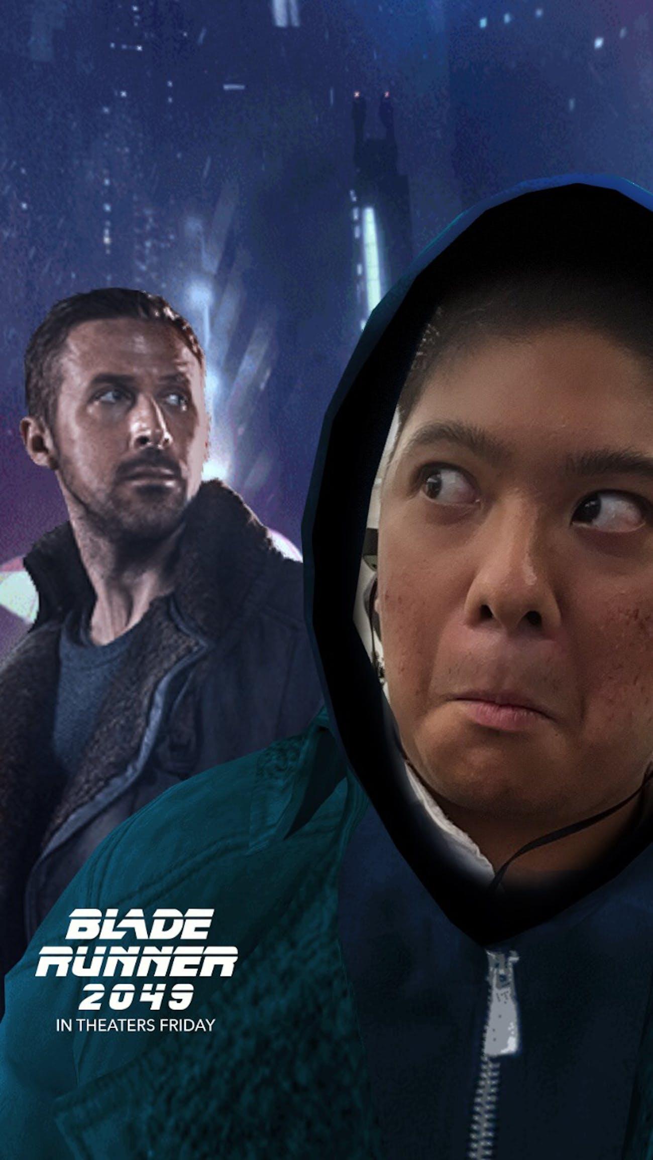 Ryan Gosling Blade Runner Snapchat filter