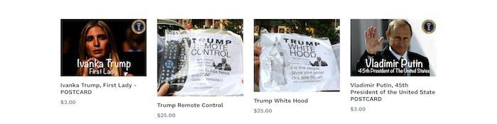 Trump White Wear