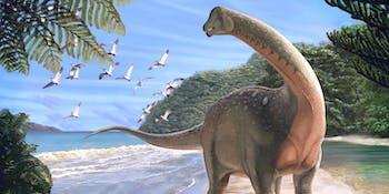 Dinosaur, 80 million years ago, Egypt