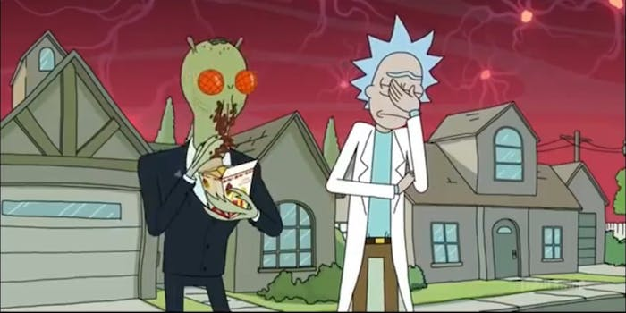 The tasty Szechuan sauce is now being considered a one-off joke.