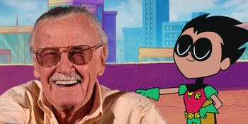 Stan Lee Teen Titanso Go to the Movies cameo