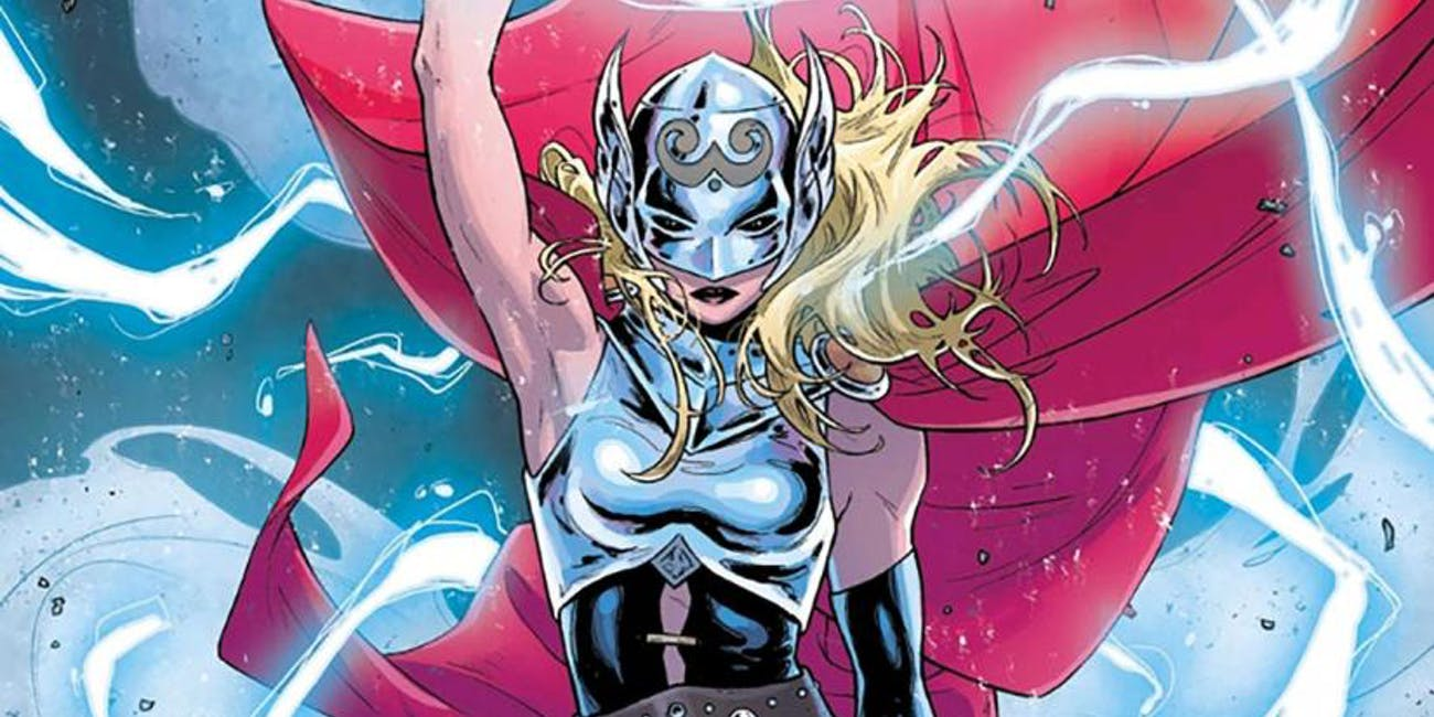 Jane Foster Mighty Thor MCU Thor Love and Thunder