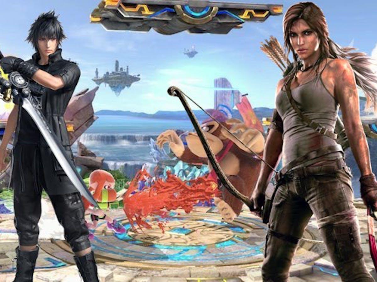Smash Ultimate' DLC Leaks: Square Enix